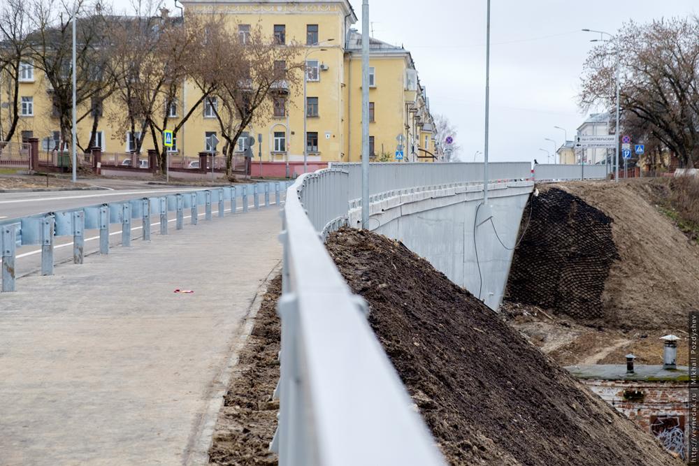 строительства моста и проспекта