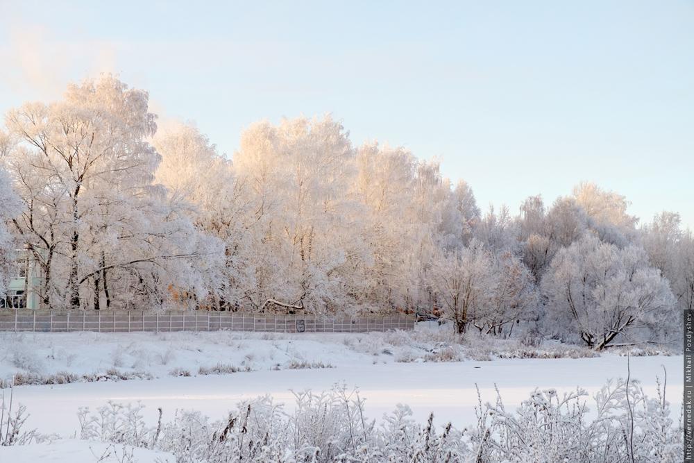 Морозный Саранск