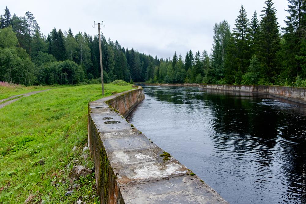 ГЭС и пороги на реке Янисйоки