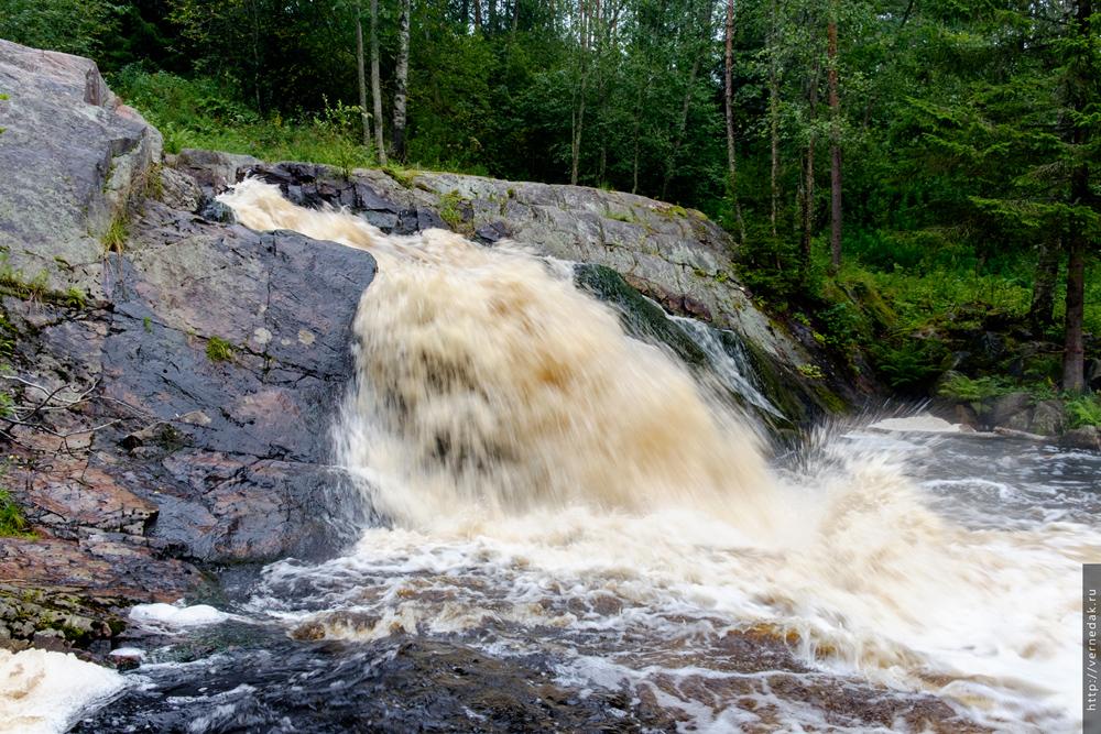 Карелия. Часть 3. Водопад Койриноя