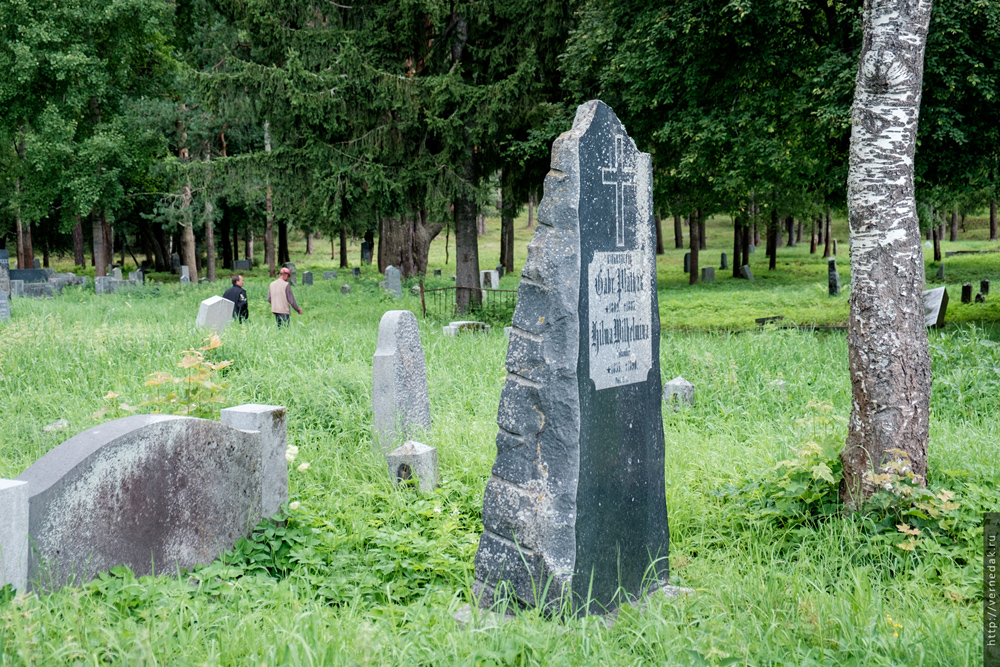 Финское кладбище в Сортавале