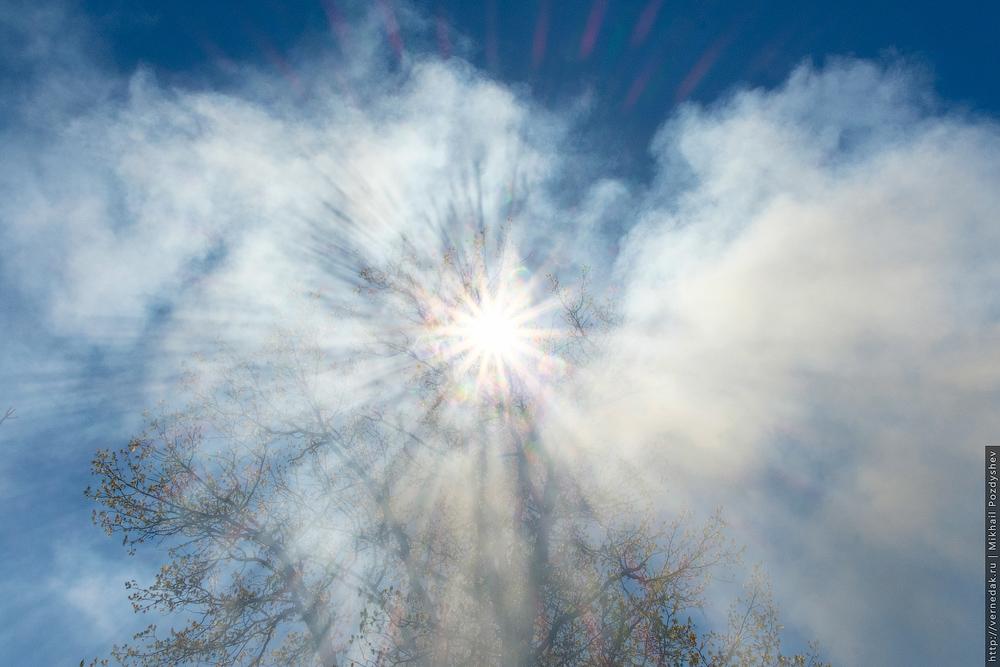 солнечный дым