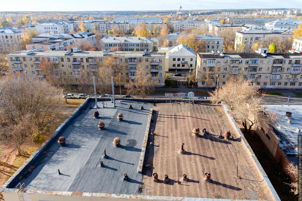Крыша 54